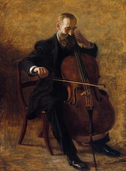 The_Cello_Player_Thomas_Eakins_1896