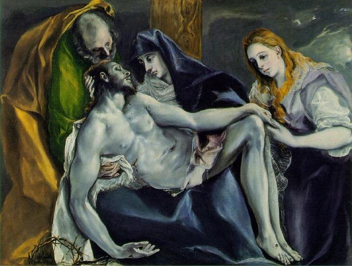 Pieta el greco