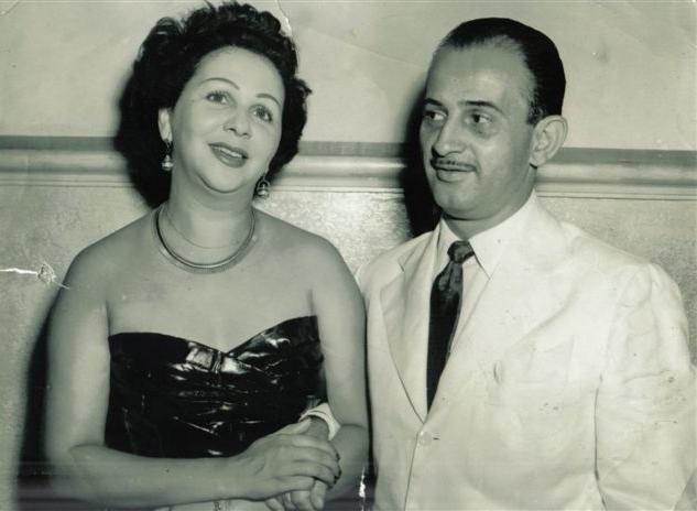 Marino com Dalva de Oliveira