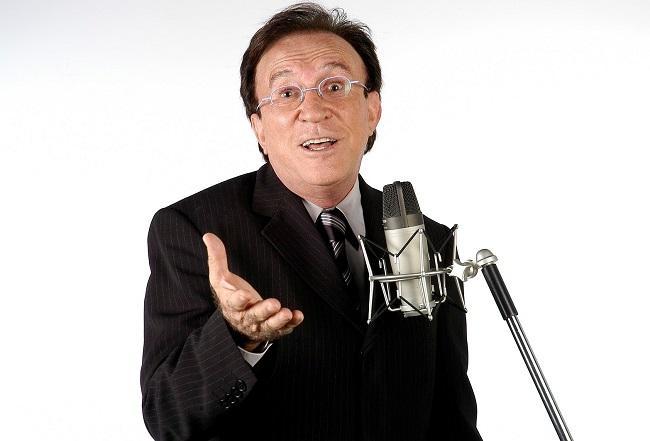 O cantor, humorista e autor Moacyr Franco
