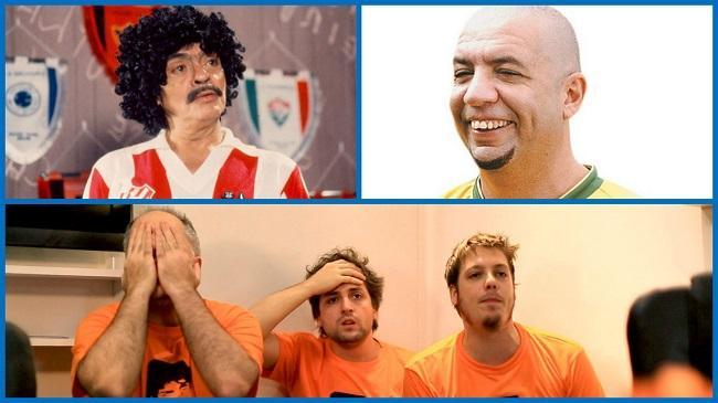 3 quadros de humor sobre o futebol brasileiro