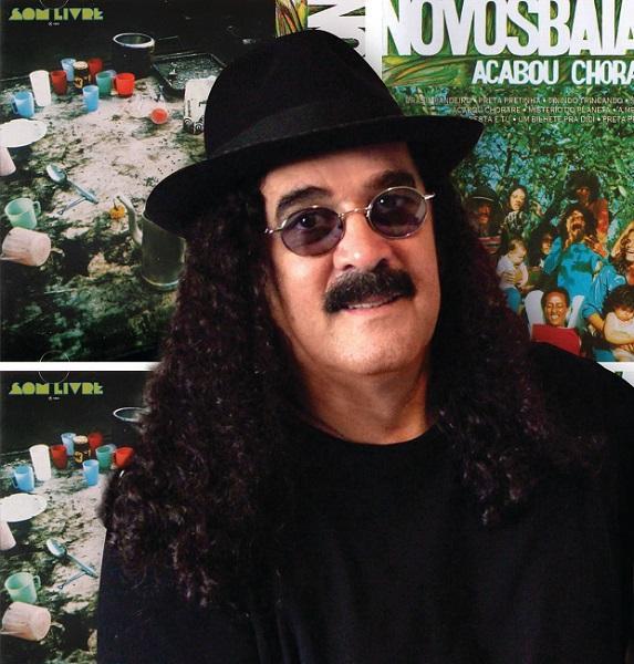 """Moraes Moreira fez parte do grupo """"Novos Baianos"""""""