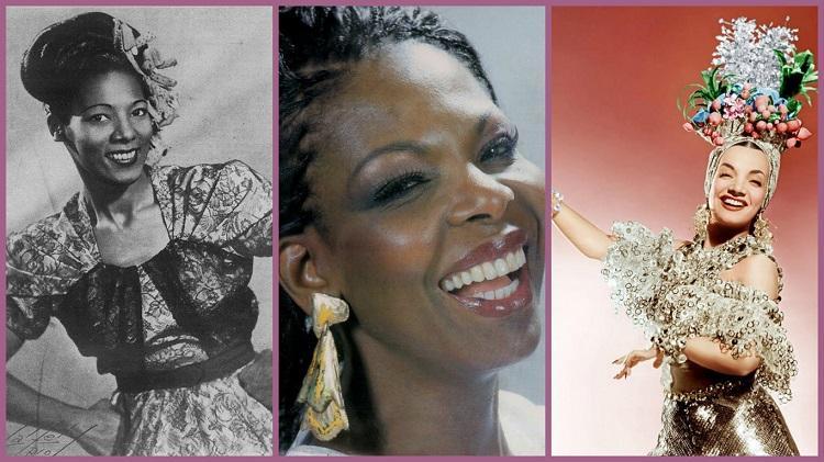 Carmen Costa, Carmen Silva e Carmen Miranda, cantoras do Brasil