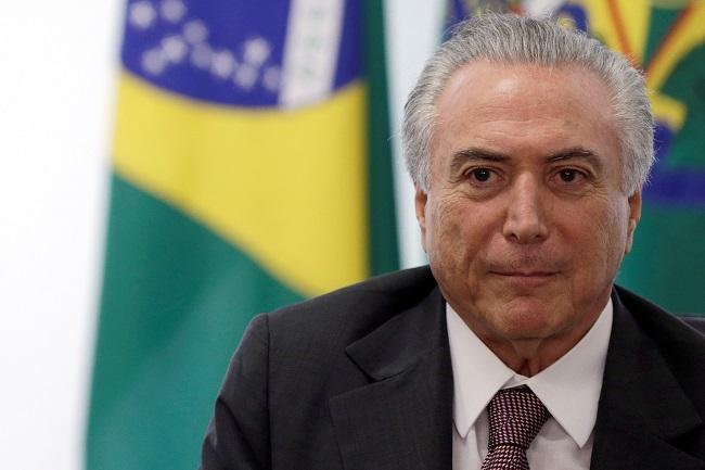 Michel Temer chegou ao poder após a polêmica deposição de Dilma