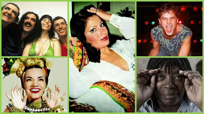 Artistas do país cantam músicas sobre o Brasil