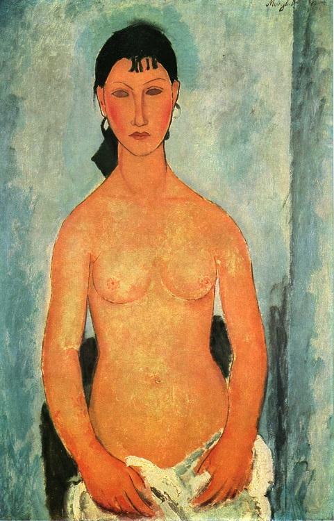 Modigliani ficou famoso por seu estilo único
