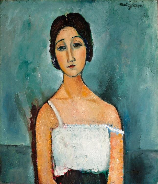 Modigliani é um dos pintores italianos mais reconhecidos