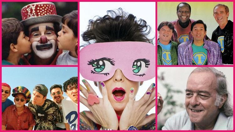 O universo infantil deu vários sucessos para a música brasileira
