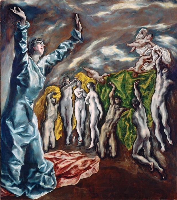 El Greco ficou famoso por pintar imagens bíblicas