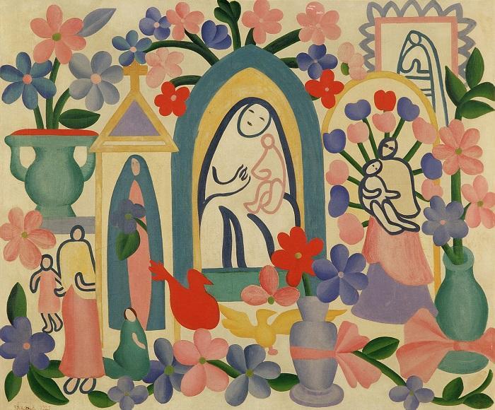 Tarsila do Amaral pintou com modernidade as tradições do Brasil