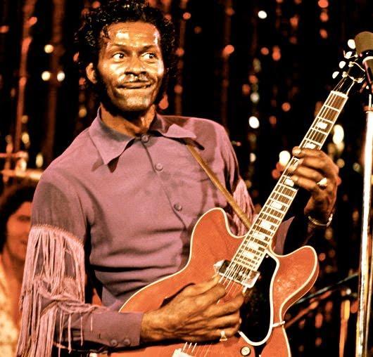 Chuck Berry enfileirou sucessos na carreira