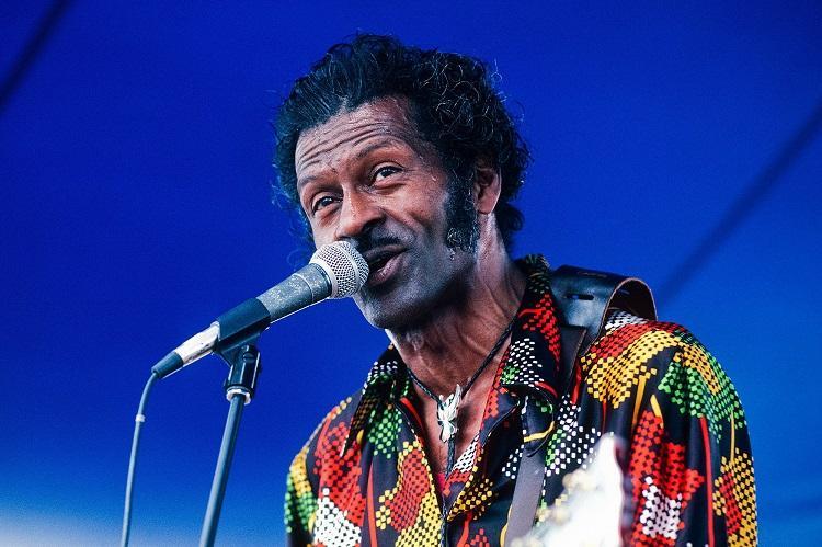 Chuck Berry foi um dos pioneiros do rock