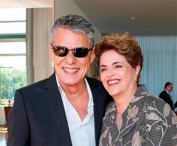 Chico Buarque e Dilma