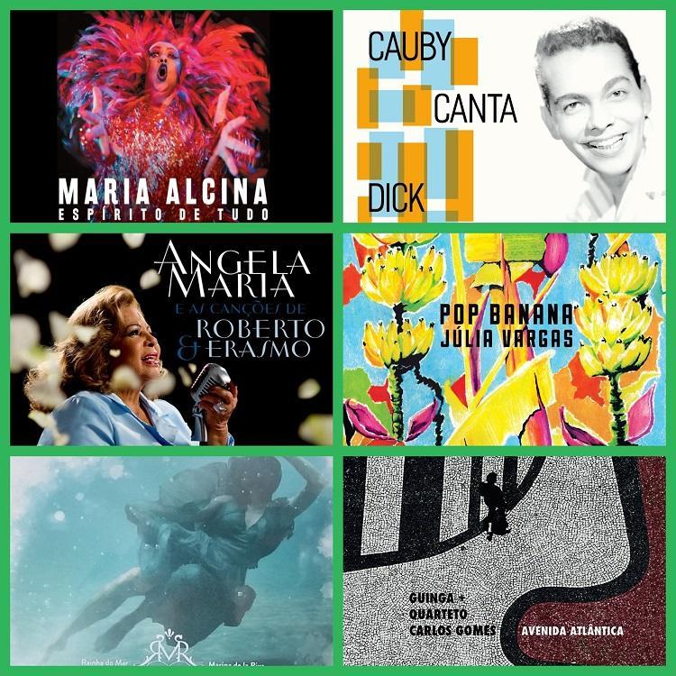 Destaques da música brasileira
