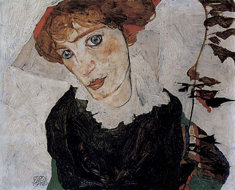 egon-schiele-portrait-of-waly