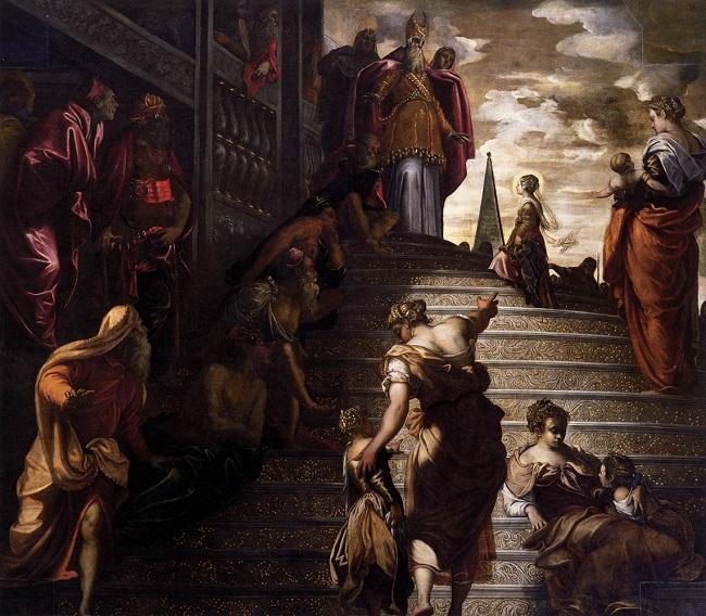 Tintoretto - The Presentation of the Virgin