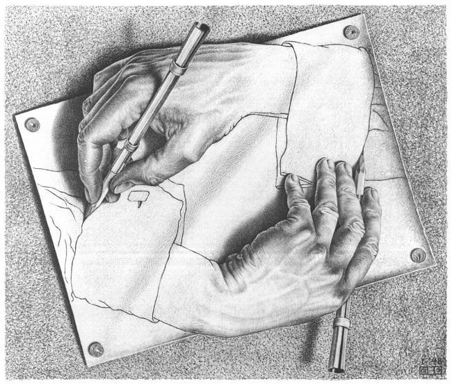 drawing_hands escher