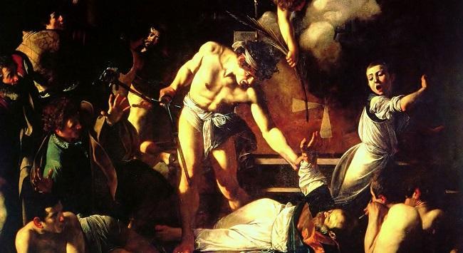 Caravaggio-Martirio-di-San-Matteo