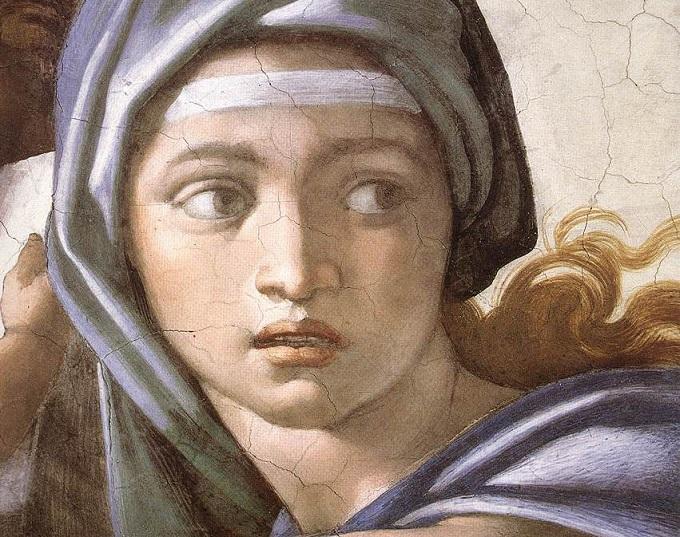 the-delphic-sibyl-michelangelo-buonarroti