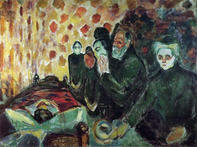 Pintura do expressionista alemão Edvard Munch