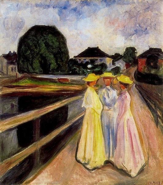 Munch retratou a sociedade de sua época com cores marcantes