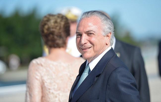 Temer foi eleito vice-presidente na chapa com Dilma Rousseff