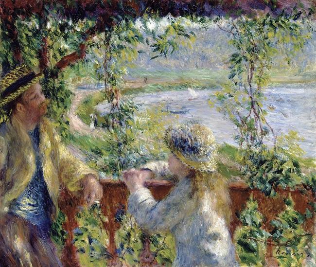 Obra do impressionista francês Renoir
