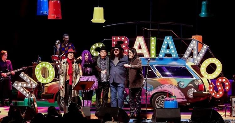 Novos Baianos se apresentaram em Belo Horizonte
