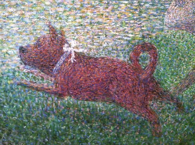 Georges Seurat foi um dos adeptos do pontilhismo