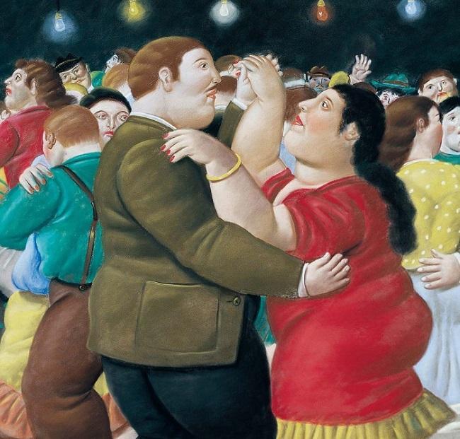 Fernando Botero abusa das formas redondas