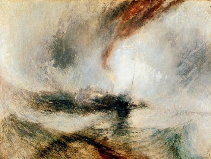 William Turner pintou os mares e tempestades de sua época