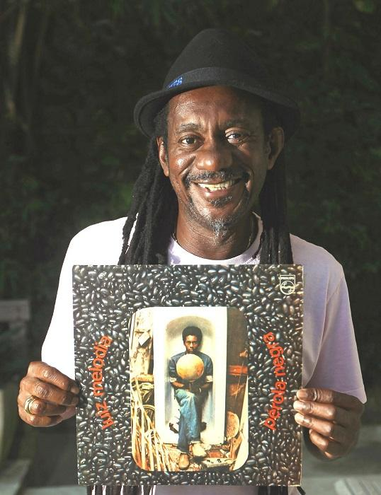 Luiz Melodia deu voz a sucessos como Negro Gato