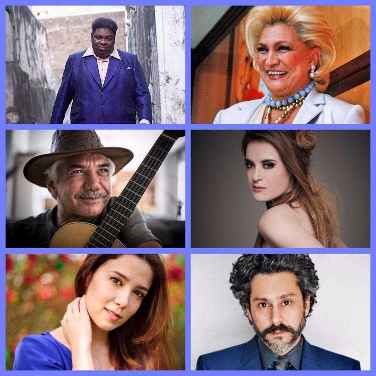 O Brasil é o país das cantoras