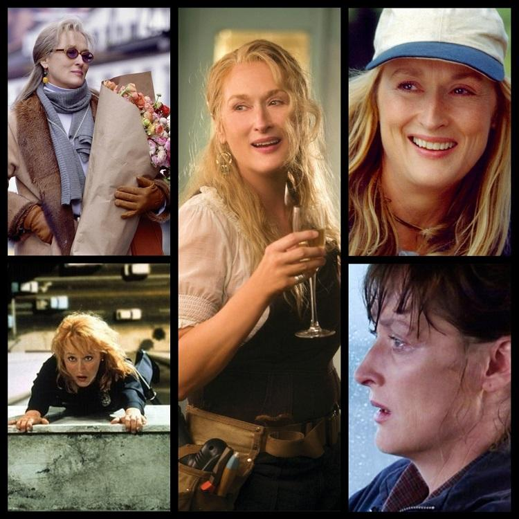 Meryl Streep venceu três vezes o Oscar